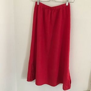 FLAX mid-length skirt